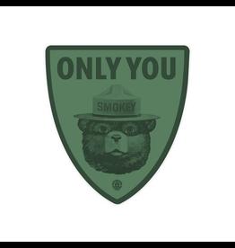Stickers Smokey Bear Duotone Sticker