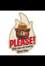 Stickers Smokey Bear Please! Sticker