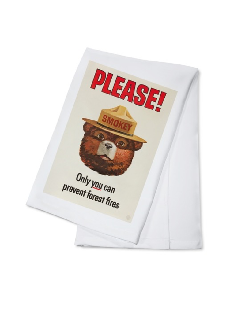Tea Towels Smokey Bear Tea Towel