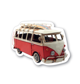 Stickers Surf Bus Sticker