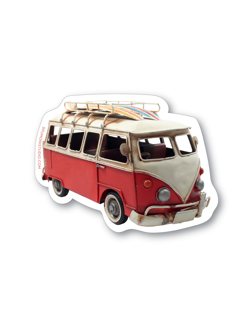 Stickers Surf Bus Sticker