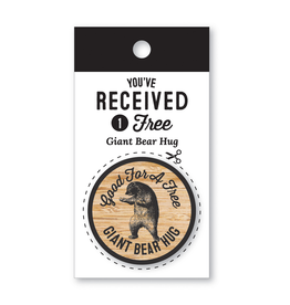 Notions Giant Bear Hug Coin