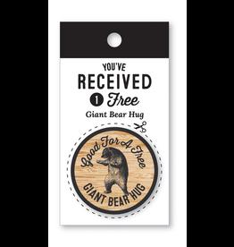 Notions Giant Bear Hug Coin