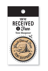 Notions Tent Sleepover Coin