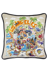Pillows - Embroidered Los Angeles Pillow