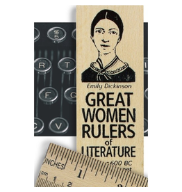 Desk Supplies Great Women of Literature Ruler