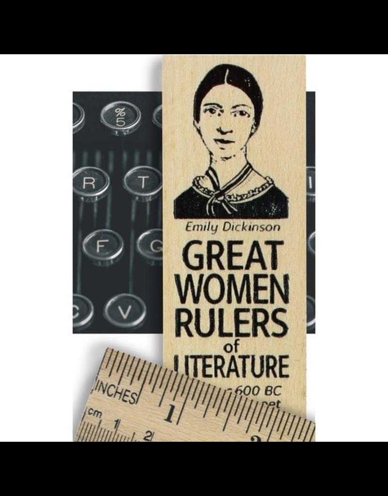 Desk Supplies Great Women of Literature Ruler