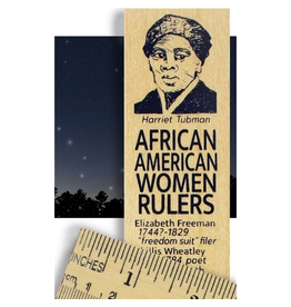Desk Supplies African American Women Ruler