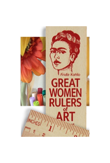 Desk Supplies Great Women of Art Ruler