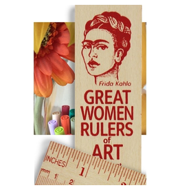 Desk Supplies Great Women of Art Ruler
