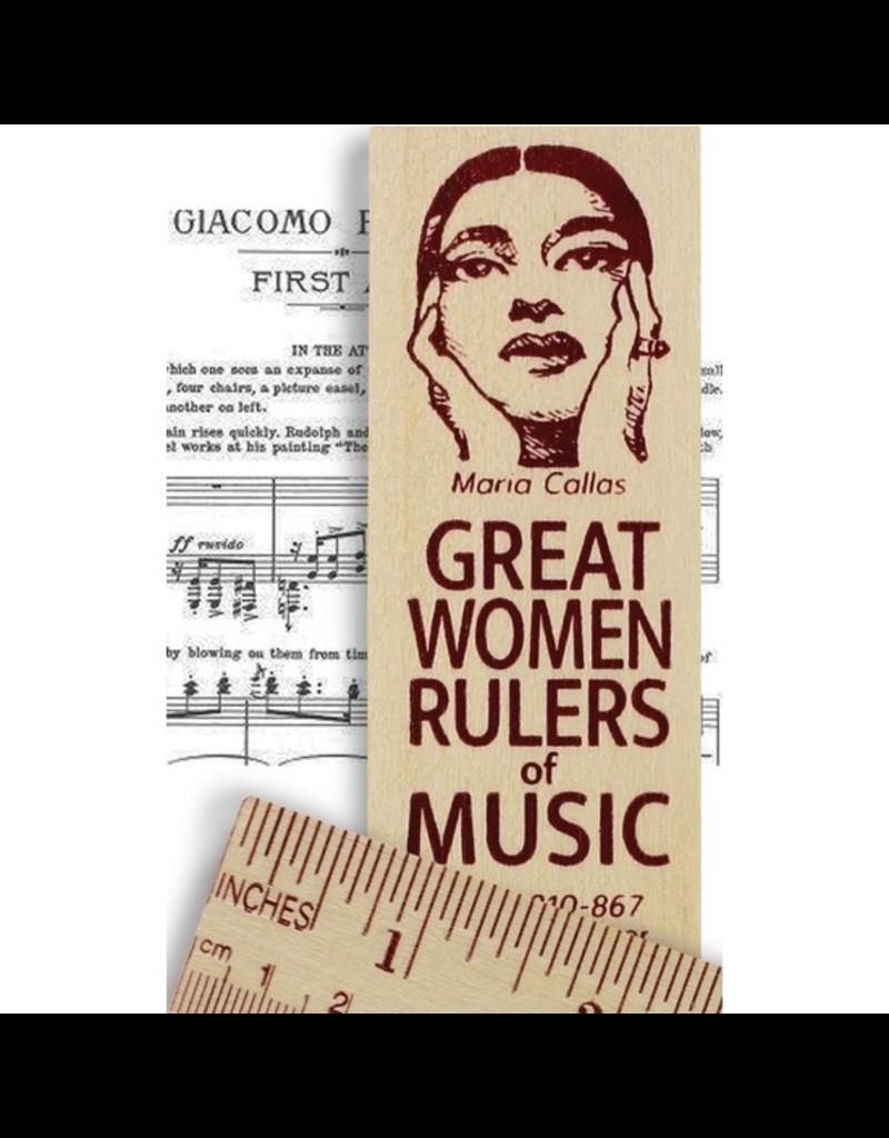 Desk Supplies Great Women of Music Ruler