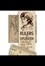 Desk Supplies Rulers of Exploration Ruler
