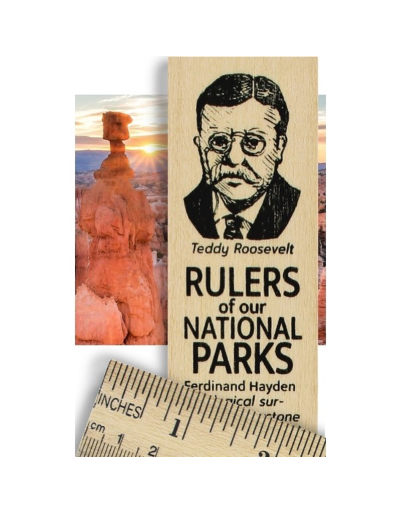Desk Supplies Rulers of the National Parks Ruler