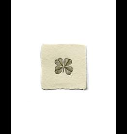 Notions Clover Petite Handmade Paper Charm