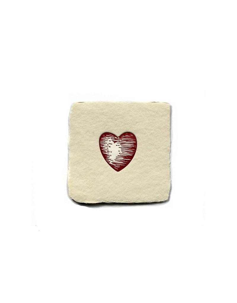 Notions Heart Petite Handmade Charm