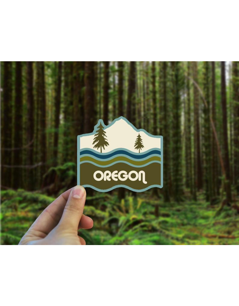 Stickers Oregon Retro Sticker