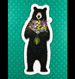 Stickers Flower Bear Sticker