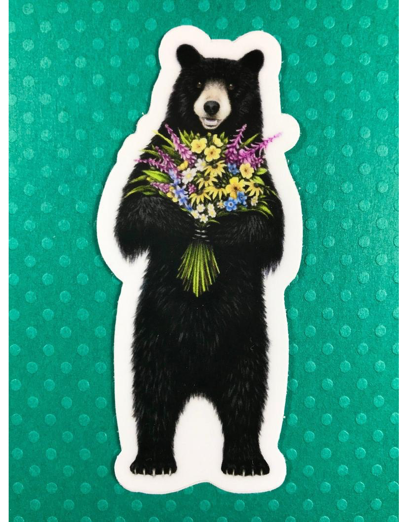 Stickers Flower Bear Sticker