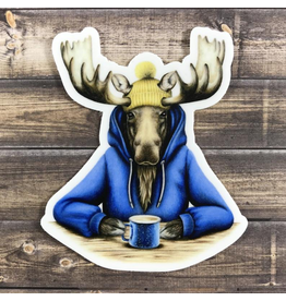 Stickers Hoodie Moose Sticker