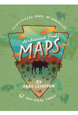 Books - Outdoors National Parks Maps