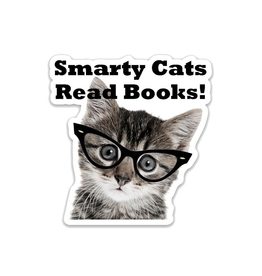 Stickers Smarty Cats Read Books Sticker