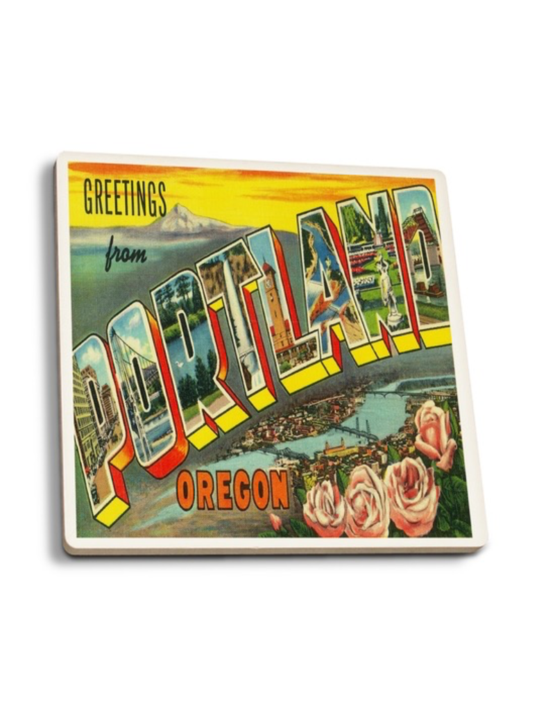 Coasters Greetings From Portland Coaster