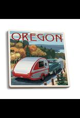 Coasters Oregon Retro Camper Coaster