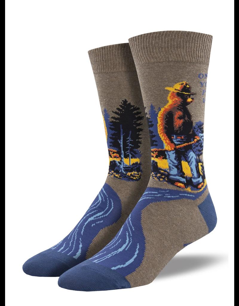 Socks Smokey Prevent Wildfires Socks