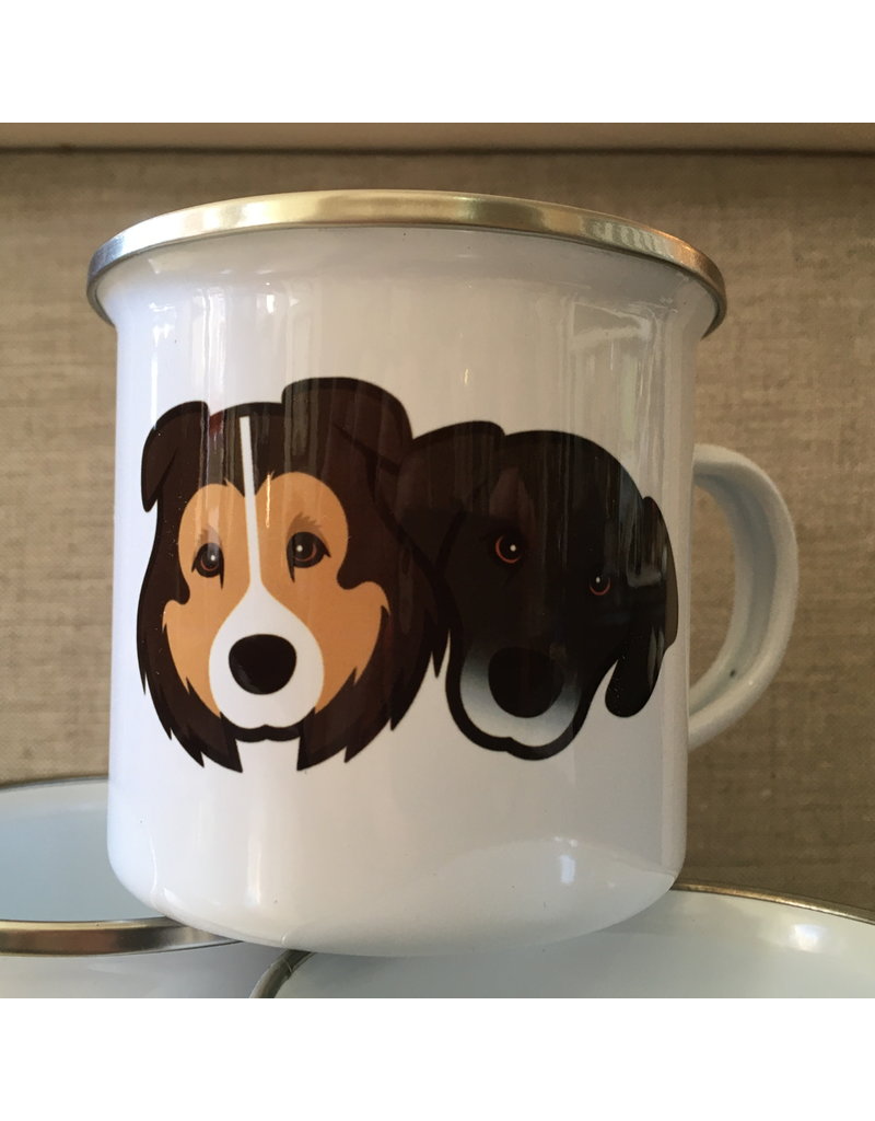 Enamelware BUDD + FINN Enamel Mug