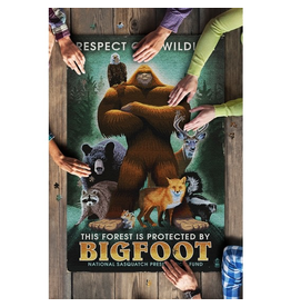 Puzzles PNW Bigfoot Puzzle