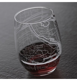 Glassware Portland Stemless Wine Glass