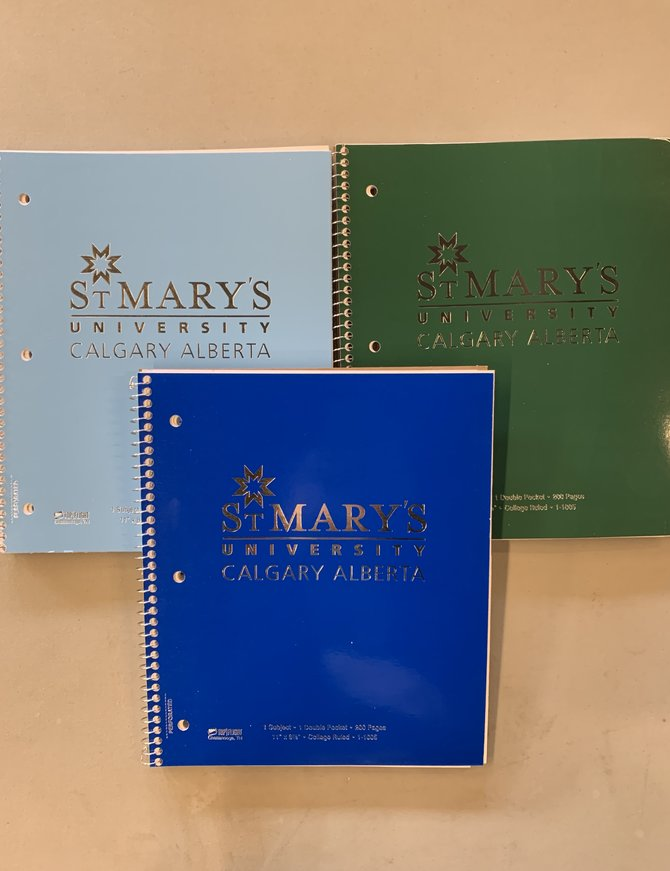 StMU 1 Subject Notebook