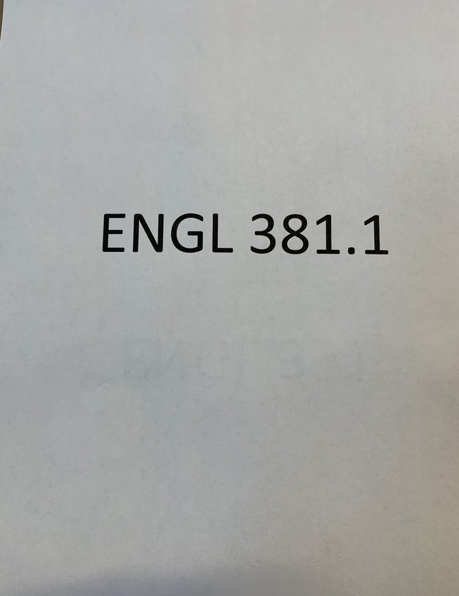 Chaucer Package English 381.1