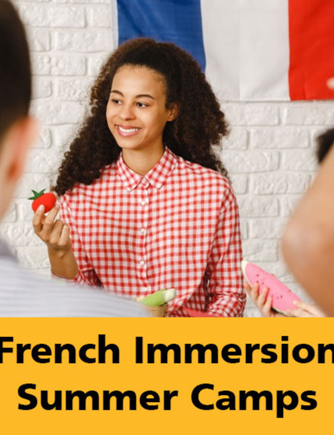 French Immersion Summer Camp July 26-July 30