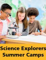 Science Explorers Summer Camp July 5-9 Grade 5&6