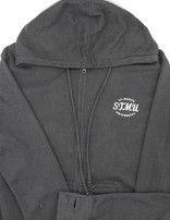 STMU Classic Full Zip Hood Black