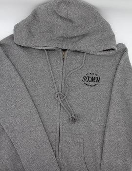 STMU Classic Full Zip Hood Graphite