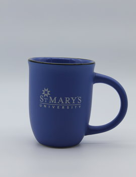 St. Mary's Mug with Silver Logo