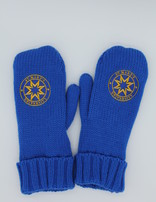 St. Mary's Blue and Gold Mittens