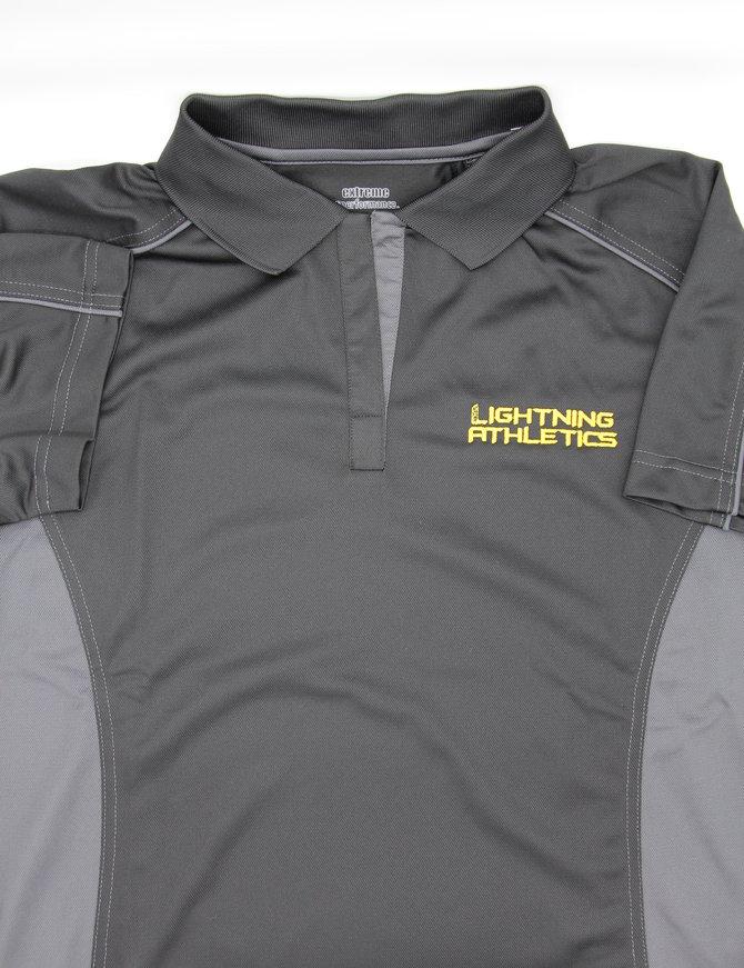 Lightning Golf Shirt Ladies Large