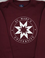 St. Mary's Seal Burgundy Sweatshirt