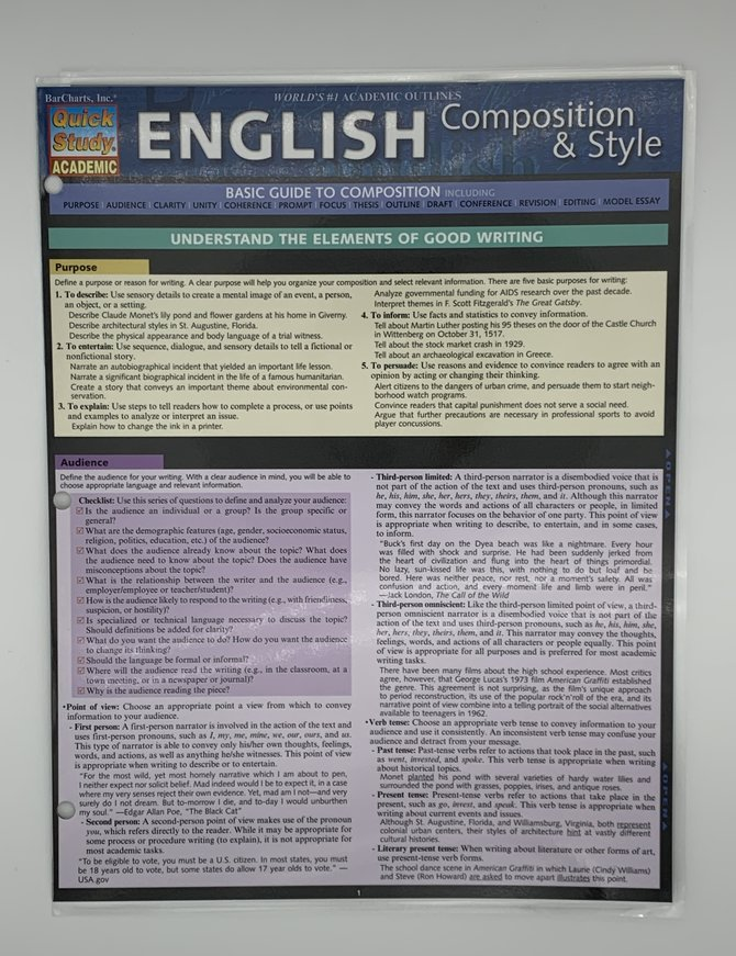 English Composition & Style