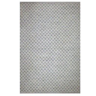 DHURRIE MAYWOOD RUG, STONE GRAY, 3 X 5'