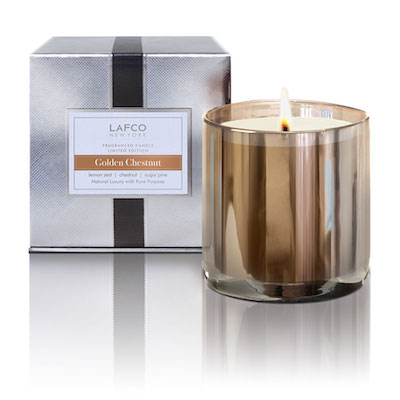 Lafco LAFCO GOLDEN CHESNUT 15.5OZ SCENTED CANDLE