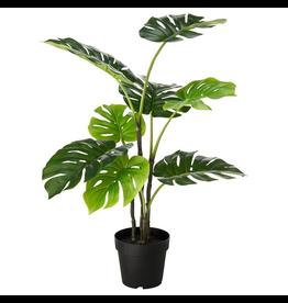 "FAUX MONSTERA PLANT, 40"""
