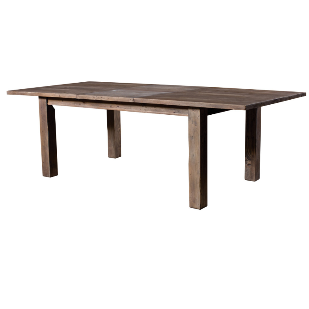 POST & RAIL REGULAR DINING TABLE, SUNDRIED, 72 X 44 X 30""