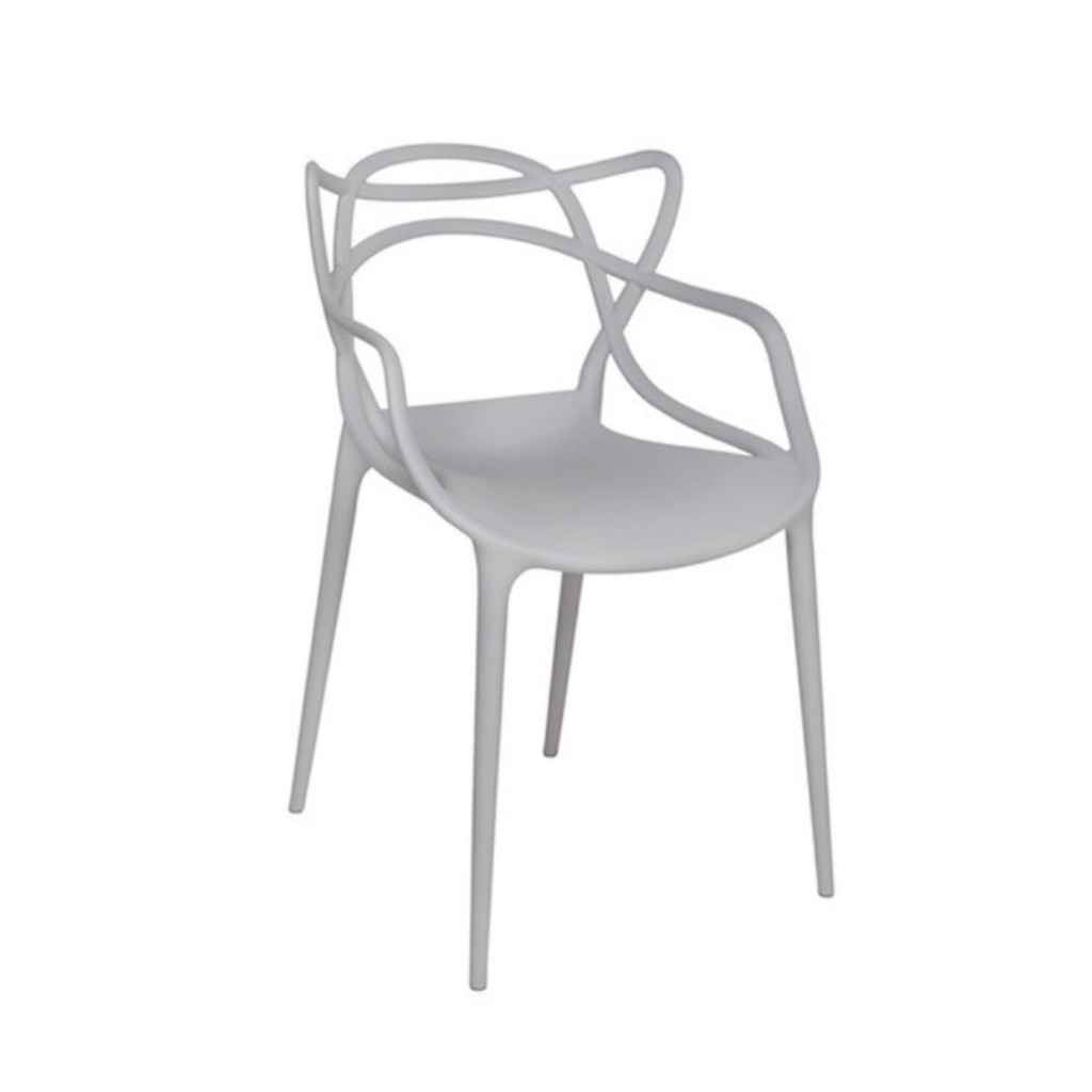 Style in Form CRANE CHAIR, GREY PLASTIC