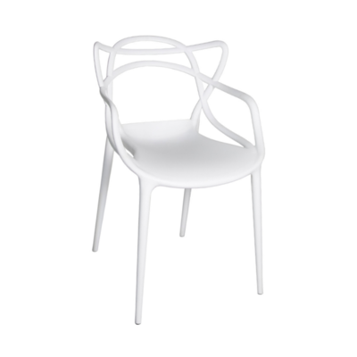 Style in Form CRANE CHAIR, WHITE PLASTIC