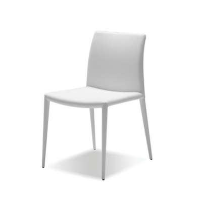EZRA DINING CHAIR, WHITE
