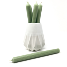 "LIGHT SAGE 10"" TAPER CANDLE"